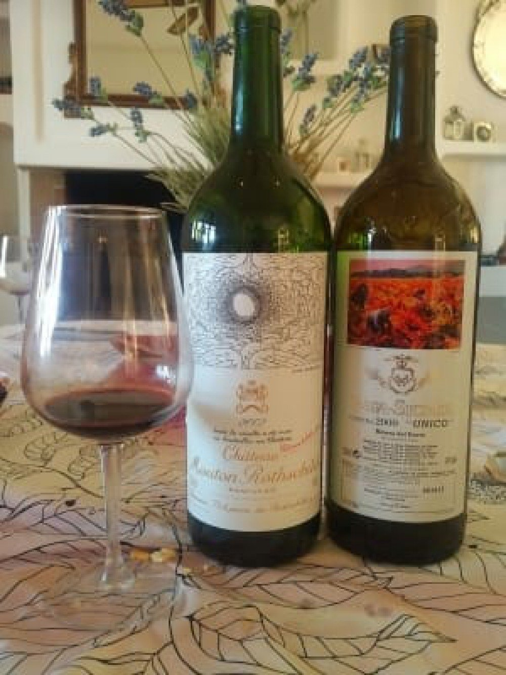 Vega Sicilia Unico 2000 vs. Mouton Rothschild 2002