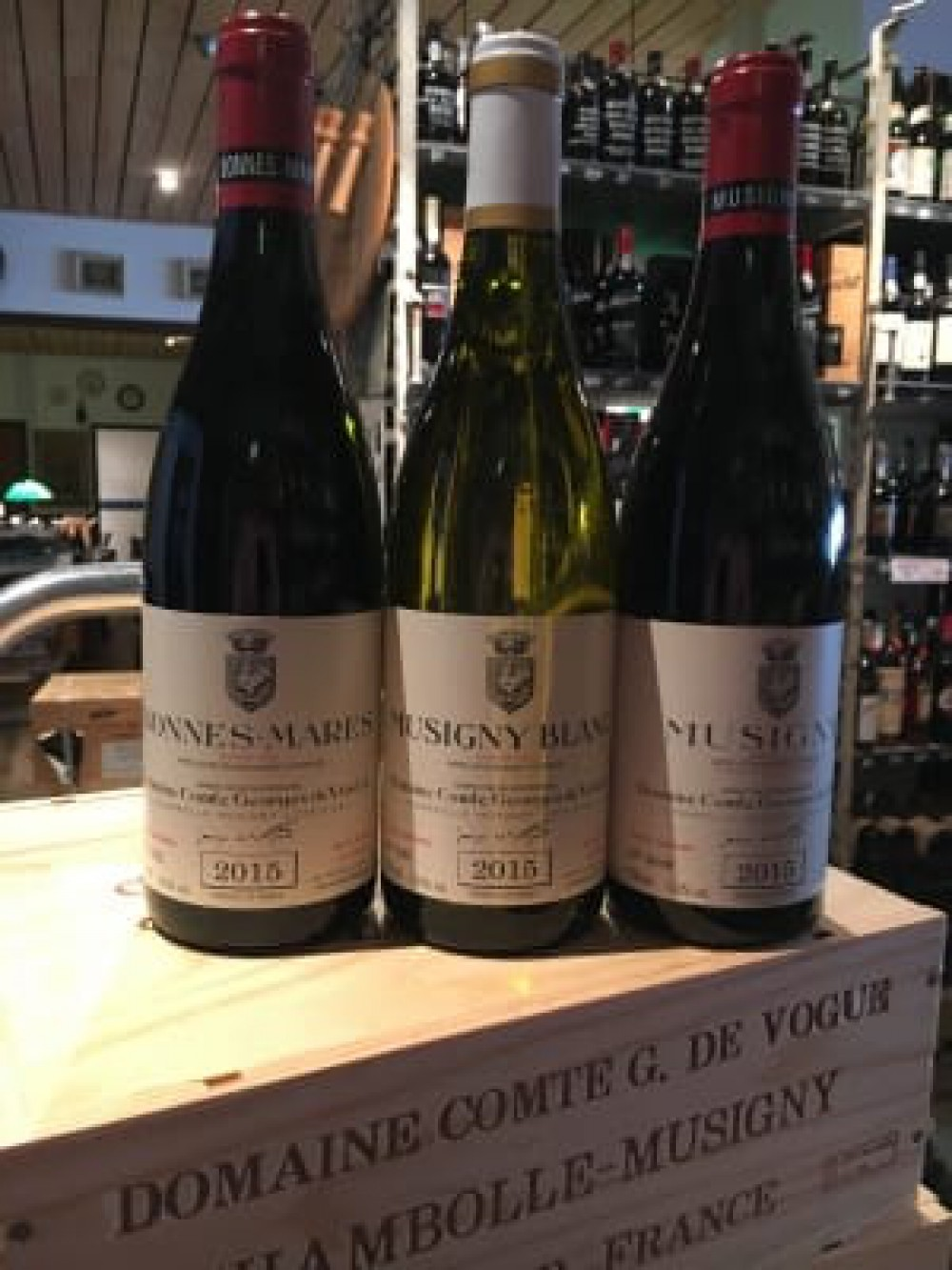 Just arrived, Comte de Vogue 2015!