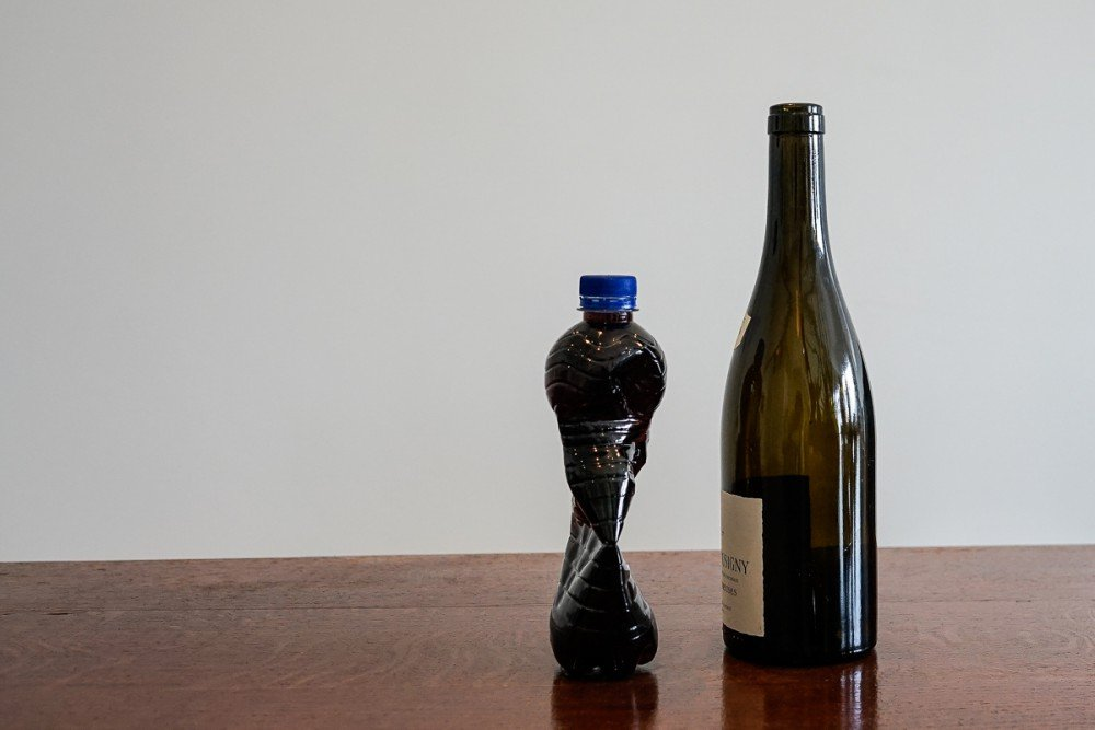 How can you best store an opened wine bottle?