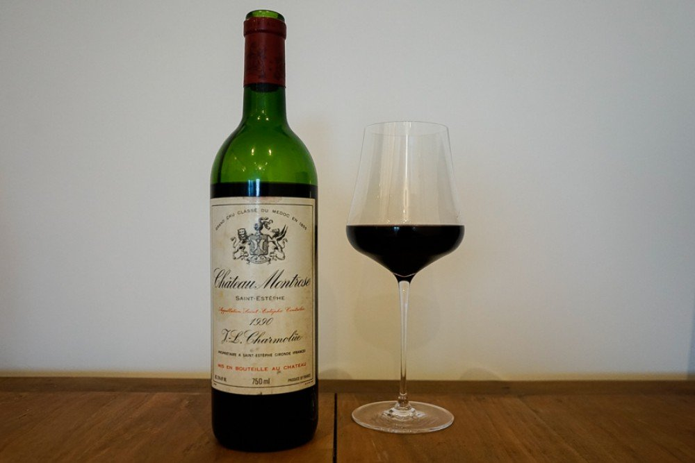 Montrose 1990, a legendary wine