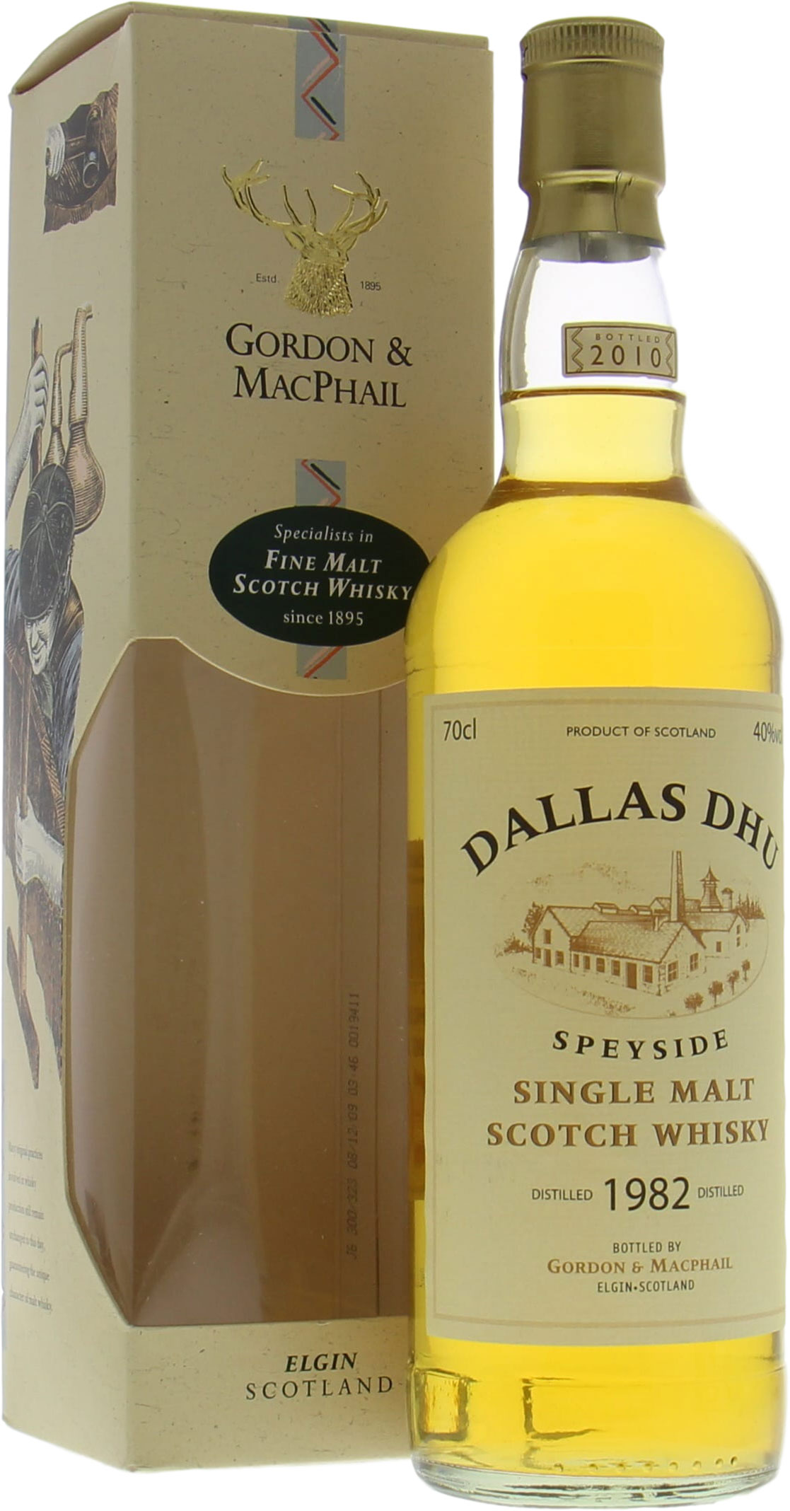 Dallas Dhu - 1982 Gordon & MacPhail Licensed Bottling 40%