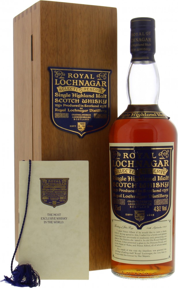Royal Lochnagar - Selected Reserve Limited Edition 43% NV