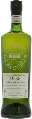 17 Years Old SMWS 46.35 Confident Understated Cask 54.6%Glenlossie  -