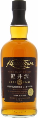 12 Years Old Pure Malt Whisky 40%Karuizawa -