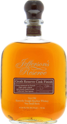 Jefferson's - Reserve Groth Very Small Batch nr.1 45.1% nv