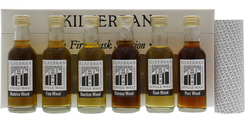 Kilkerran - First Cask Miniature Selection (Rare) 2004
