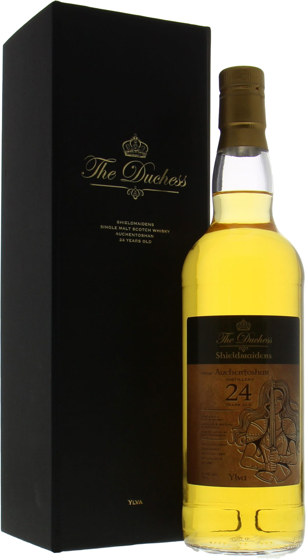 Auchentoshan - 24 Years Old The Duchess Shieldmaiden Ylva Selected by Luc Timmermans 51,5%