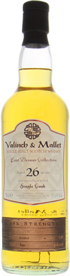 26 Years Old Valinch & Mallet Lost Drams Collection Cask 1828 53.1%Linkwood -