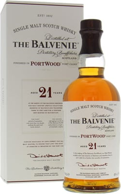 Balvenie - 21 Years Old PortWood New Label 2015 40%  NV