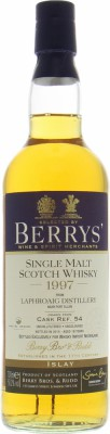 18 Years Old Berry's for Whisky Import Nederland Cask 54 50.2%Laphroaig -