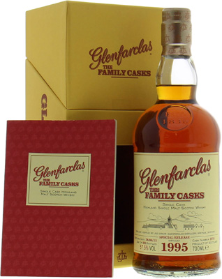 15 years Old The Family Casks for Usquebaugh Society Cask 3771 57.5%Glenfarclas -