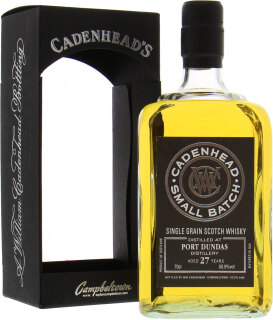 27 Years Old Cadenhead Small Batch 50.9%27 Years Old Cadenhead Small Batch 50.9%