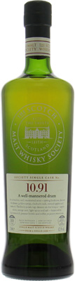 10 Years Old SMWS 10.91 A well-mannered dram 62.1%Bunnahabhain -