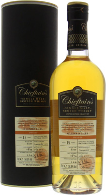 15 years Old Chieftain's Cask:11894 58.6%Glenrothes -