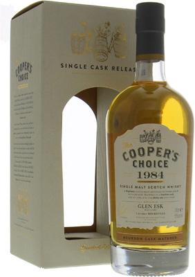 Glenesk - 31 Years Old Cooper's Choice Cask 5282 50% 1984