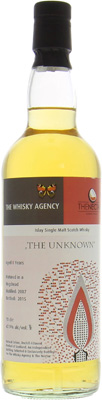 8 Years Old Islay The Unknown 47.9%The Whisky Agency -