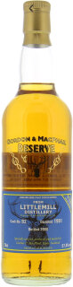 17 Years Old Gordon & MacPhail Reserve Cask:92 57.4%17 Years Old Gordon & MacPhail Reserve Cask:92 57.4%