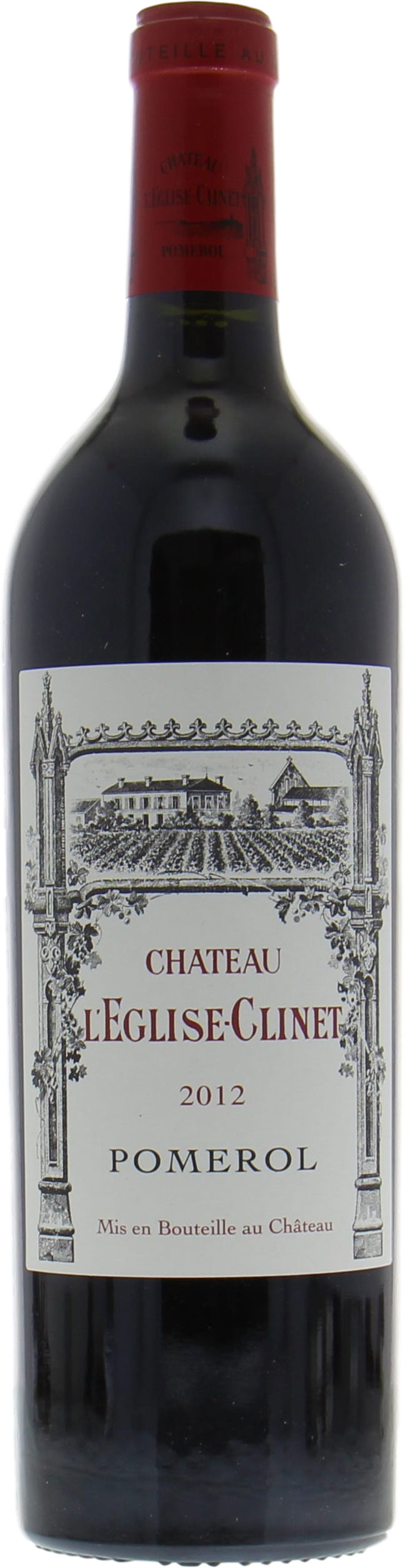 Chateau Eglise Clinet - Chateau Eglise Clinet 2012