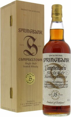 Springbank - 35 Years Old Millennium 46% NV