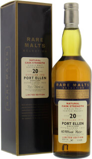 20 Years Old Rare Malts Selection 60.9%20 Years Old Rare Malts Selection 60.9%