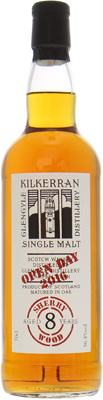 8 Years Old Springbank Open Day 2016 56.4%Kilkerran -