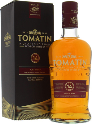 Tomatin - 14 Years Old Port Casks 46% NV
