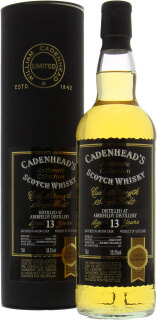 13 Years Old Cadenhead Authentic Collection 58.3%13 Years Old Cadenhead Authentic Collection 58.3%