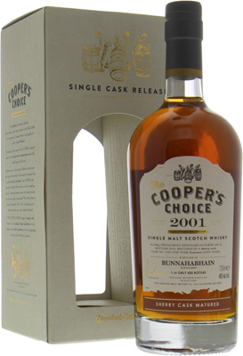 Bunnahabhain - 14 Years Old Cooper's Choice 1428 46% 2001