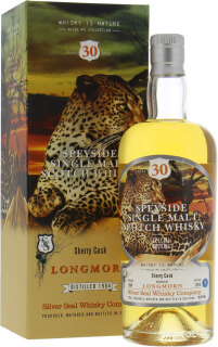 30 Years Old Silver Seal Wildlife Collection Cask:3212 56.3%30 Years Old Silver Seal Wildlife Collection Cask:3212 56.3%