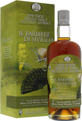 Pluscarden 38 Years Old Silver Seal Gioachino Rossini Il Barbiere di Siviglia 46.7%