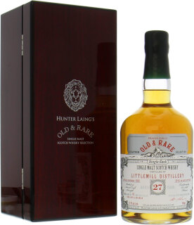 27 Years Old Hunter Laing Platinum Selection cask:HL15212 57.3%27 Years Old Hunter Laing Platinum Selection cask:HL15212 57.3%