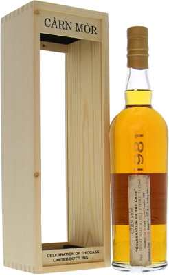 34 Years Old Càrn Mòr Cask 5682 53.6%