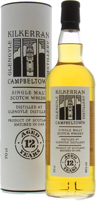 12 Years Old 46%Kilkerran -