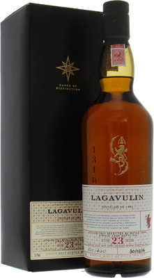 Lagavulin - 23 Years Old Single Cask 5745 Botteling For Boyao Zhao 55.7% 1992
