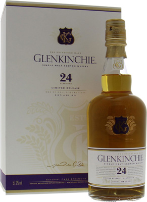 Glenkinchie - 24 Years Old Limited Release 2016 57.2% nv
