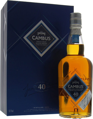 40 Years Old Limited Release 2016 52.7%Cambus -