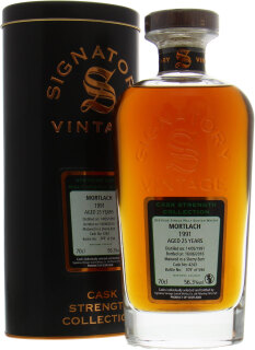 25 Years Old Signatory Vintage Cask:4243 56.3%