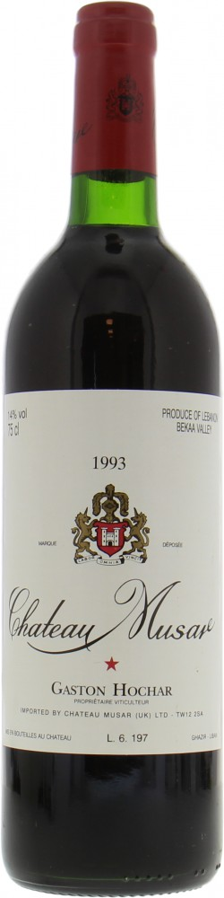 Chateau Musar - Chateau Musar 1993