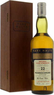 Mannochmore - 22 Years Old Rare Malts Selection 60.1% 1974