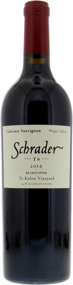 Schrader Cellars - Cabernet Sauvignon T6 Beckstoffer to Kalon Vineyard 2014