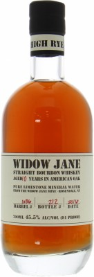 Widow Jane Distillery - 10 Years Old Cask:1086 Bottled for 60th Anniversary of La Maison du Whisky 45.5% NV