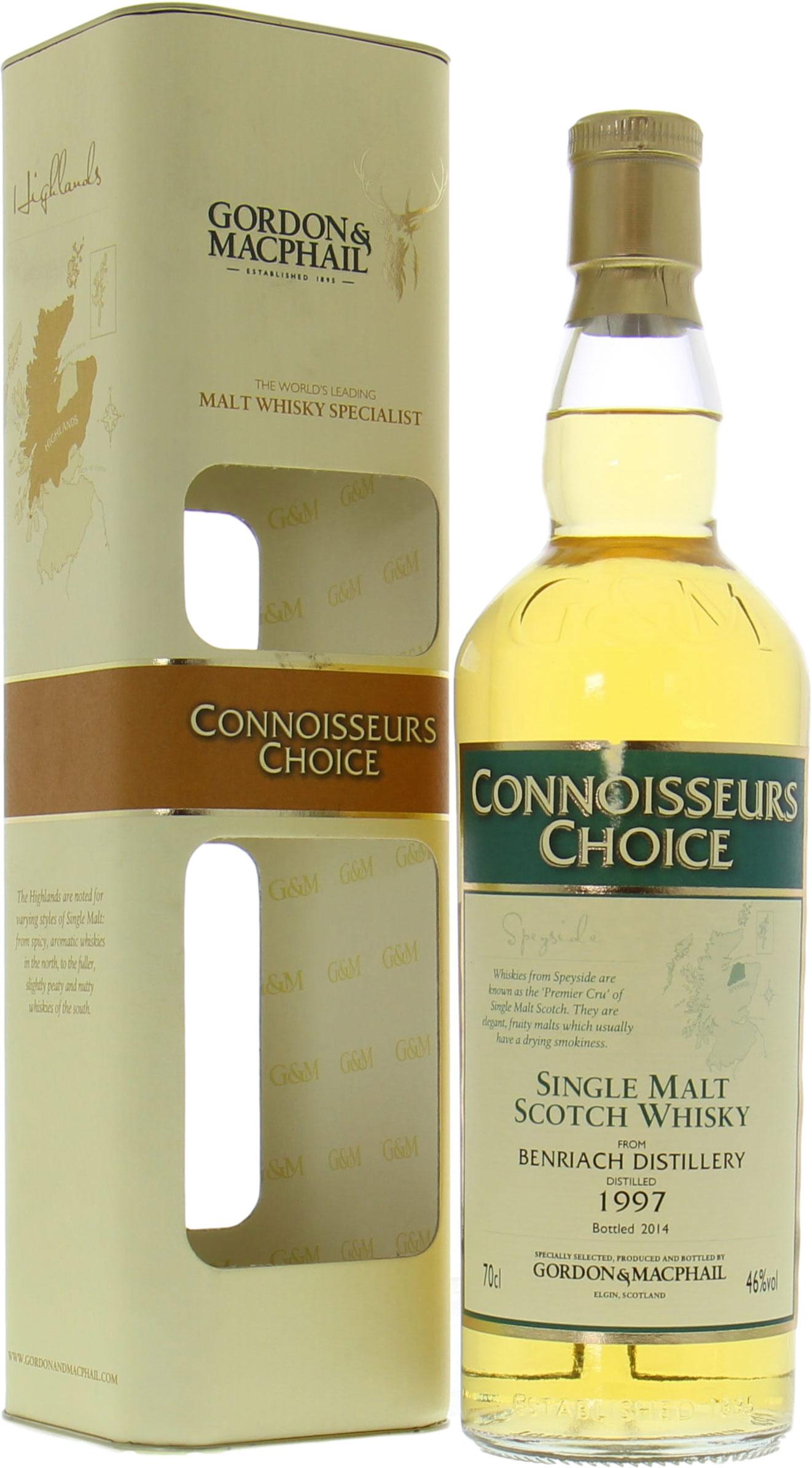 BenRiach Gordon & MacPhail Connoisseurs Choice 46% 1997