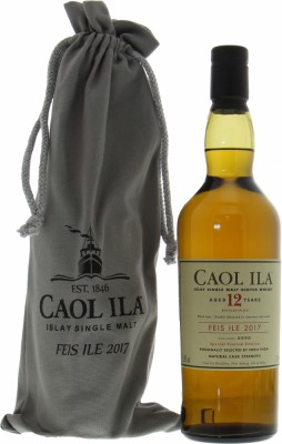 Caol Ila - Feis IIe 2017 12 Years Old 55.8% NV