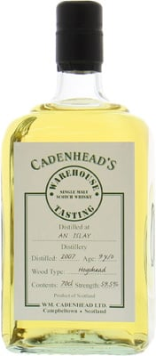 9 Years Old Cadenhead's Warehouse Tasting 59.5%Lagavulin -
