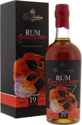19 Years Old Guadeloupe The Duchess Cask:22 54.9%