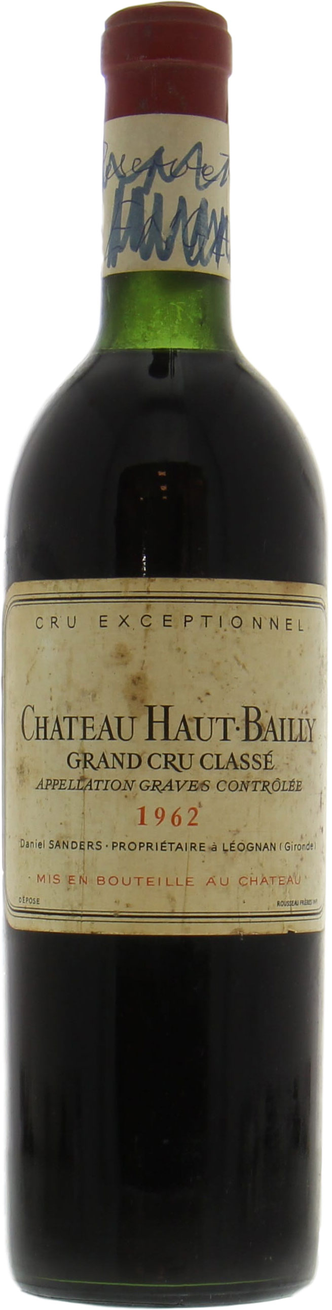 Chateau Haut Bailly - Chateau Haut Bailly 1962