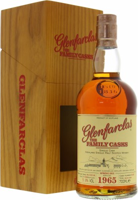 1965 The Family Casks Sp15 Cask:4512 51.8%Glenfarclas -