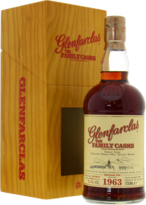 48 Years Old The Family Casks Release VIII Cask:179 50.4%Glenfarclas -