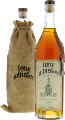 Lone Whisker - 12 Years Old 93.8 Proof 46.9% 2005