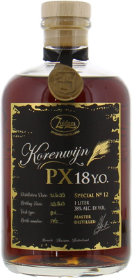 Korenwijn Special nr.12 PX 18 years old 38%
